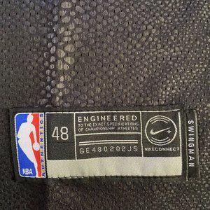 Lakers #3 Anthony Davis Black Mamba Jersey